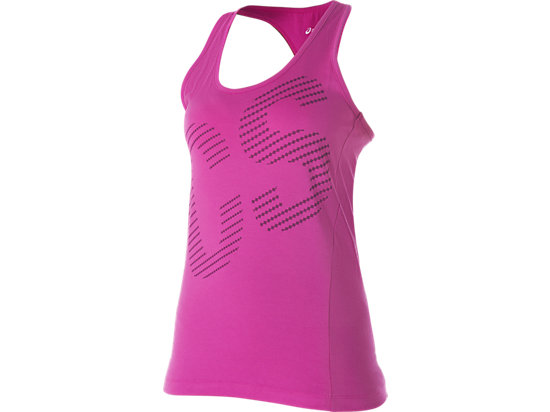 Graphic Tank Top Berry 3