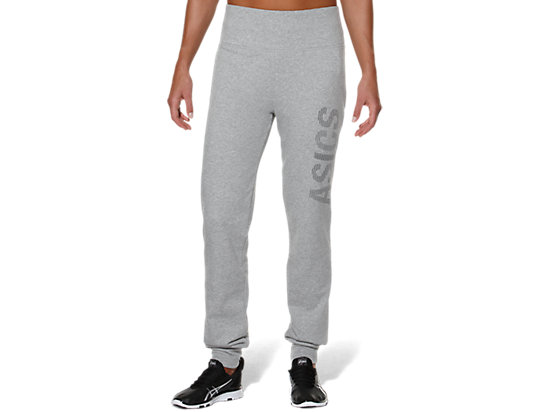 GRAPHIC CUFFED PANT HEATHER GREY 3