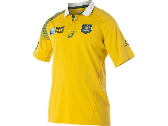 Wallabies Fan Short Sleeve Jersey Gold 3