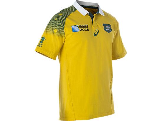 Wallabies Fan Short Sleeve Jersey Gold 7