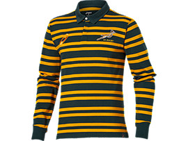 MEN'S SPRINGBOKS LONG SLEEVE POLO