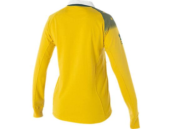 Wallabies Fan Long Sleeve Jersey Gold 11