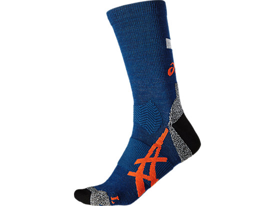 WINTER RUNNING SOCK, Poseidon/Koi