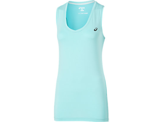 TANK TOP TURQUOISE/REAL WHITE 3