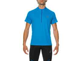 RACE SHORT SLEEVE HALF ZIP TOP