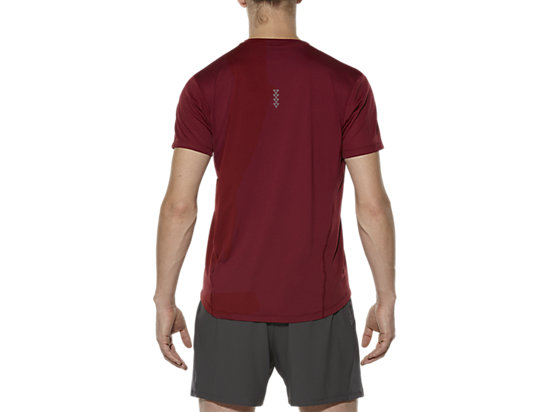 RACE SHORT SLEEVE TOP POMEGRANATE 19