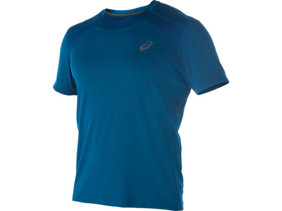 RACE SHORT SLEEVE TOP, Poseidon