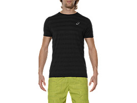SEAMLESS TEE, Performance Black