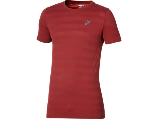 SEAMLESS TEE POMEGRANATE 3