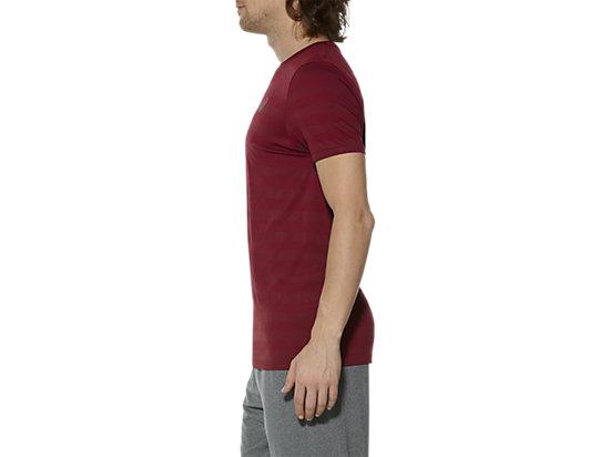 SEAMLESS TEE POMEGRANATE 7