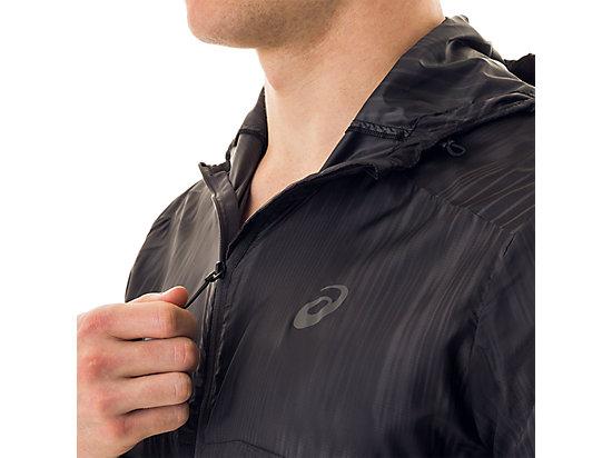 Packable Jacket Black Fusion Print 15