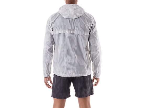 Packable Jacket White Fusion Print 7