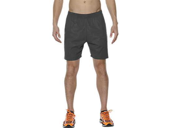 FUZEX 7IN PRINT SHORT, Meiro Dark Grey