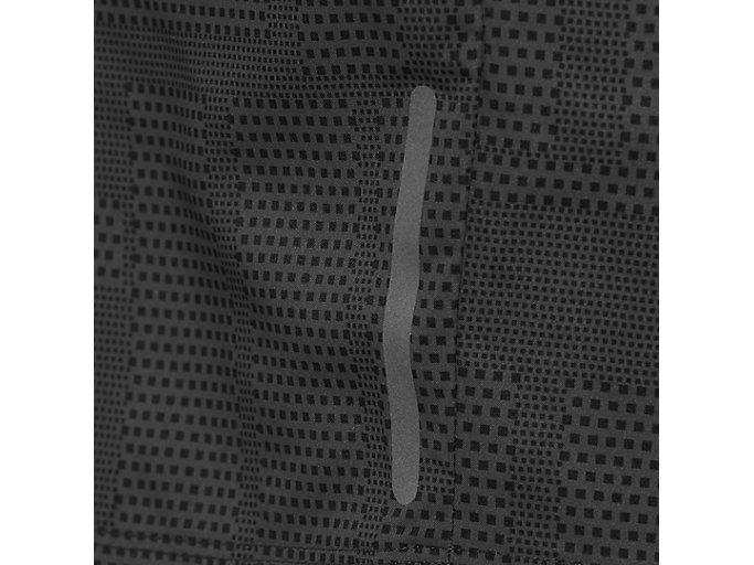Alternative image view of fuzeX 7IN PRINT SHORT, MEIRO DARK GREY