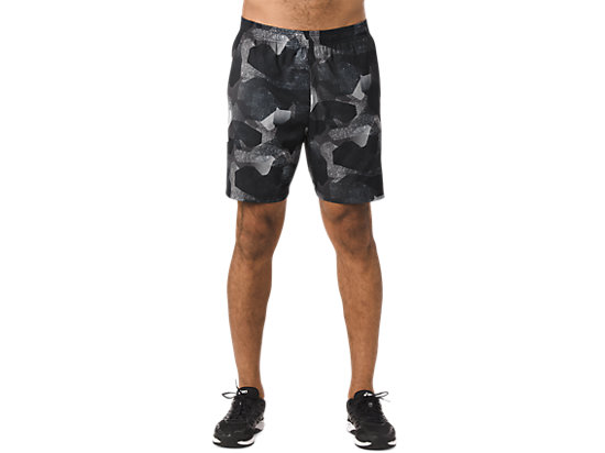 fuzeX 7IN PRINT SHORT Camo Geo Performance BLACK