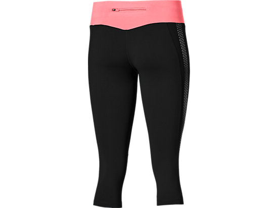LITE-SHOW KNEE TIGHT PERFORMANCE BLACK/CAMELION ROSE 15