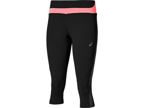 LITE-SHOW KNEE TIGHT PERFORMANCE BLACK/CAMELION ROSE 3