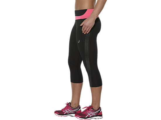 LITE-SHOW KNEE TIGHT PERFORMANCE BLACK/CAMELION ROSE 11