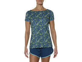 PRINTED SHORT SLEEVE TOP, Dotto Poseidon