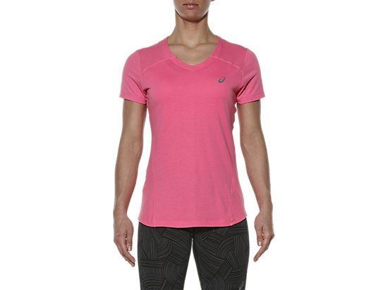 V-NECK SHORT SLEEVE TOP CAMELION ROSE 7
