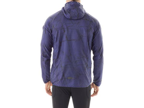 FujiTrail Packable Jacket Deep Cobalt Marble Print 7