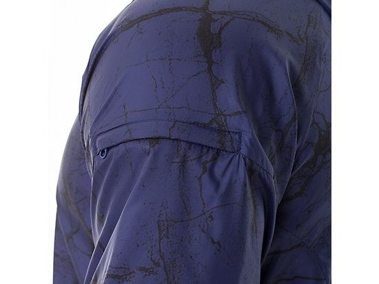 FujiTrail Packable Jacket Deep Cobalt Marble Print 19
