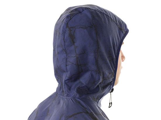 FujiTrail Packable Jacket Deep Cobalt Marble Print 23