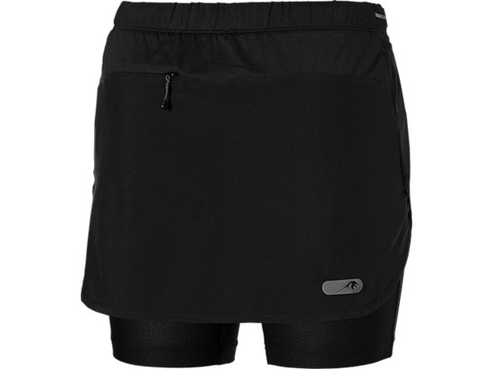 FUJITRAIL SKORT PERFORMANCE BLACK 15