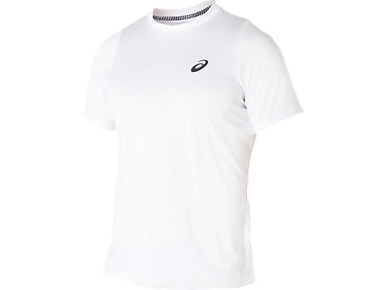 Club Short Sleeve Top Real White 3