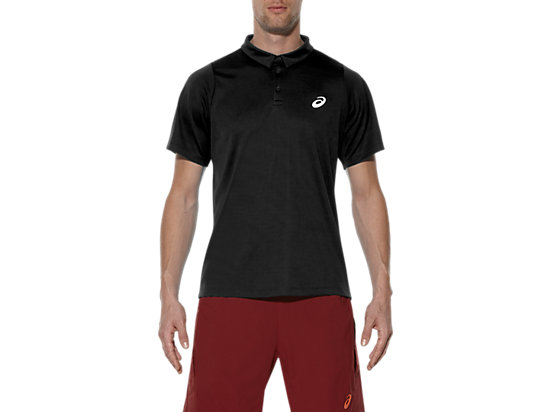 POLO MANCHES COURTES PERFORMANCE BLACK 3