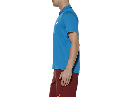 CLUB SHORT SLEEVE POLO BLUE JEWEL 7