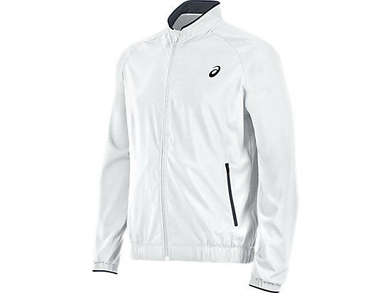 Club Woven Jacket Real White 3