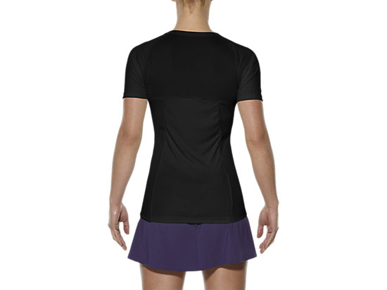 CLUB V-NECK TOP PERFORMANCE BLACK 11 BK