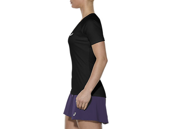 CLUB V-NECK TOP PERFORMANCE BLACK 7 LT