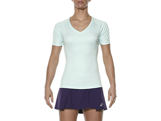 CLUB V-NECK TOP SOOTHING SEA 3