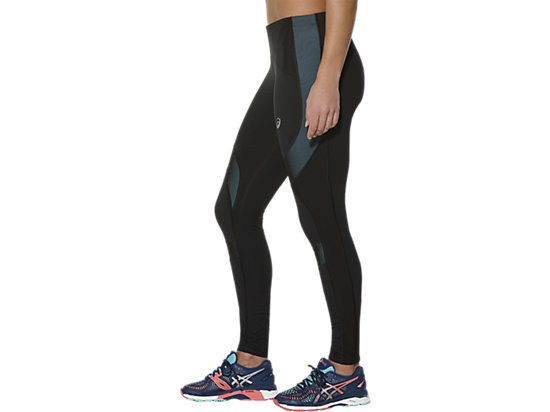 LEG BALANCE TIGHT PERFORMANCE BLACK/KINGFISHER 7