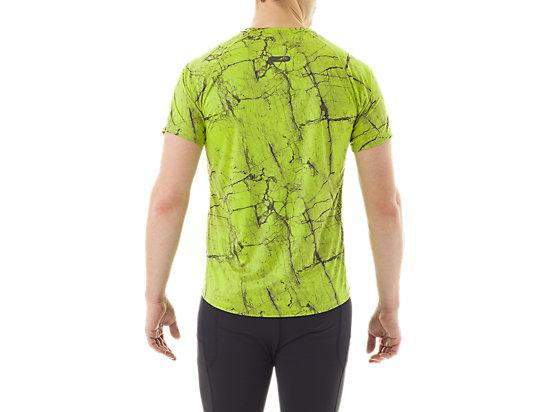 FujiTrail Graphic Short Sleeve Key Lime Marble Print 7