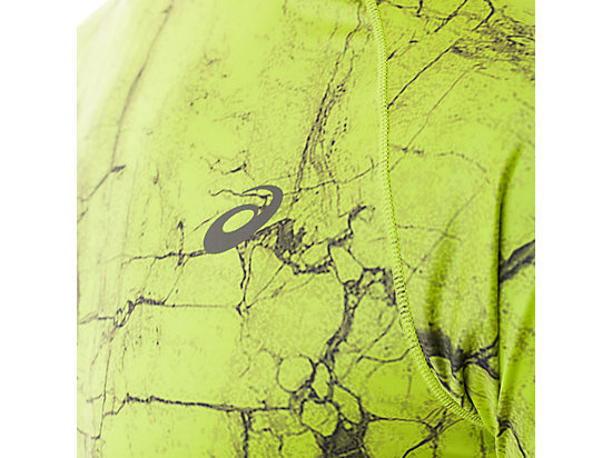 FujiTrail Graphic Short Sleeve Key Lime Marble Print 15