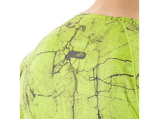 FujiTrail Graphic Short Sleeve Key Lime Marble Print 19