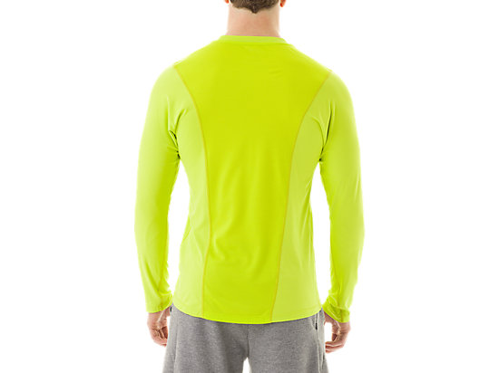 Long Sleeve Top Neon Lime 7