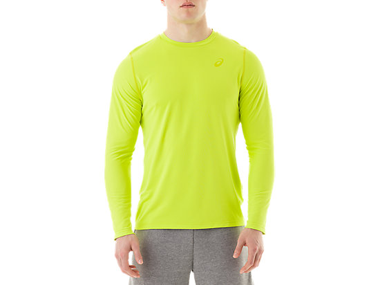Long Sleeve Top Neon Lime 3