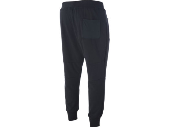 Terry Cuffed Pant Performance Black 7