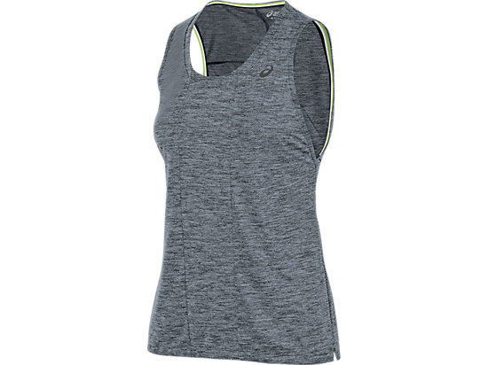 Mesh Sleeveless Top Performance Black 3