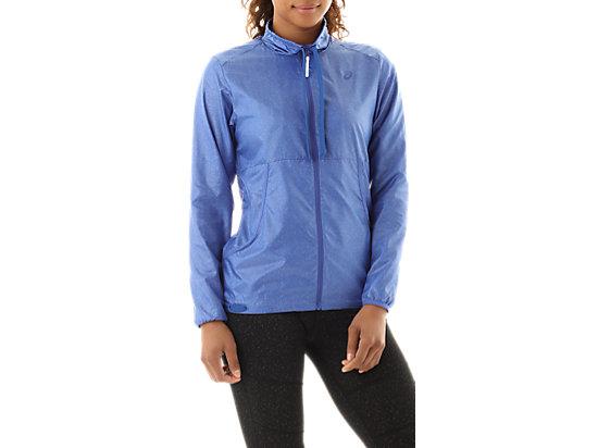 Lightweight Jacket Blue Purple Speckle Print 3
