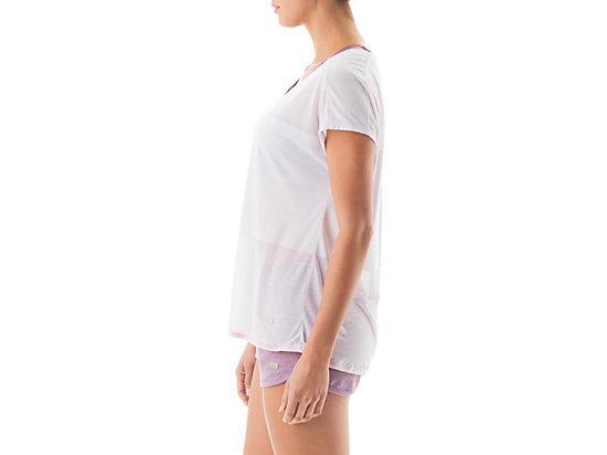 Burnout Short Sleeve Top Lilac 11