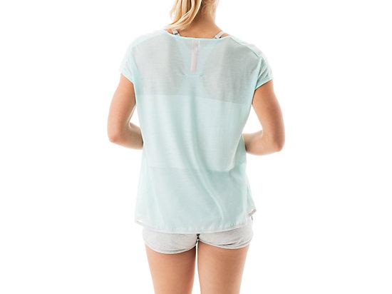 Burnout Short Sleeve Top Crystal Blue 7