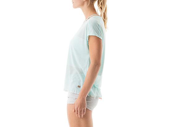 Burnout Short Sleeve Top Crystal Blue 11