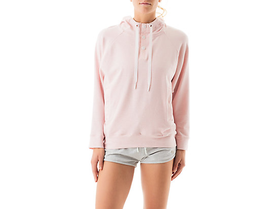 Terry Pullover Hoody English Rose 3
