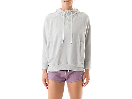 Terry Pullover Hoody Grey Violet 3