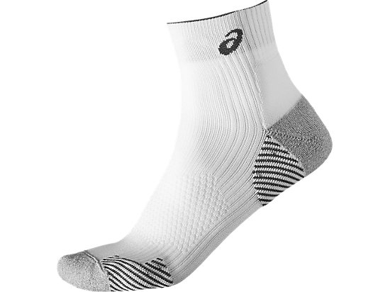 RUNNING DENSITY CUSHIONING SOCK, Real White
